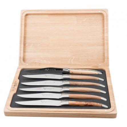 Stekknivar mixade, Franska träslag/matt rfr x 6